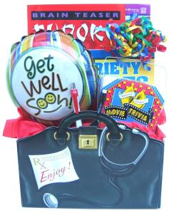 Our first official Book Bouquet the Boredom Buster Gift Box