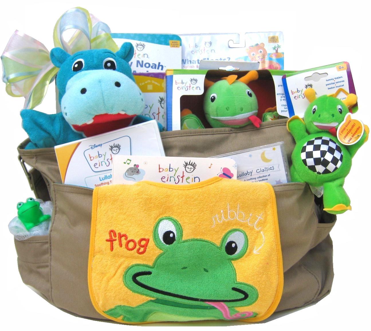 baby book gift basket: