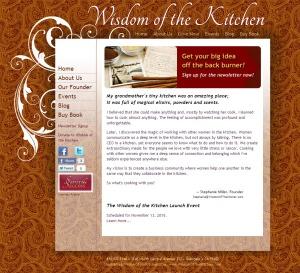 Wisdom of the Kitchen website